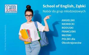 szkoła języków angielski francuski niemiecki rosyjski polski ząbki
