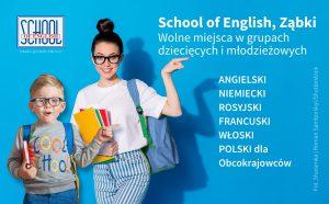 angielski francuski niemiecki rosyjski zabki dzieci mlodziez